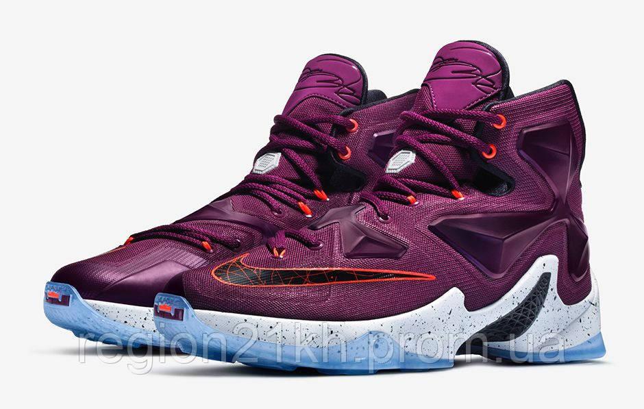 Баскетбольные кроссовки Nike LeBron XIII 13 Written In The Stars Purple