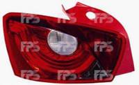 Фонарь задний для Seat Ibiza '08- левый (DEPO) 5-дверная 673287-E