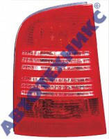 Фонарь задний для Skoda Octavia универсал '97-09 левый (DEPO) 1U9945095