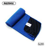 Полотенце Remax RT-TW01 Cold Feeling Sporty Towel, цвет: синий