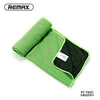 Полотенце Remax RT-TW01 Cold Feeling Sporty Towel, цвет: зеленый
