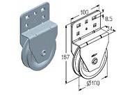 Блок ручного подъёма ворот HKU001 для ворот ролет секционных гаражных и промышленных