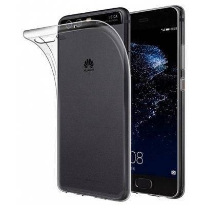 Ультра-тонкий ТПУ задняя чехол для Huawei P10 - Прозрачный, фото 2