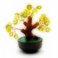 Дерево с монетами (16х16х10 см)