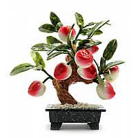 Дерево персик (8 плодов)(20х15х8 см)