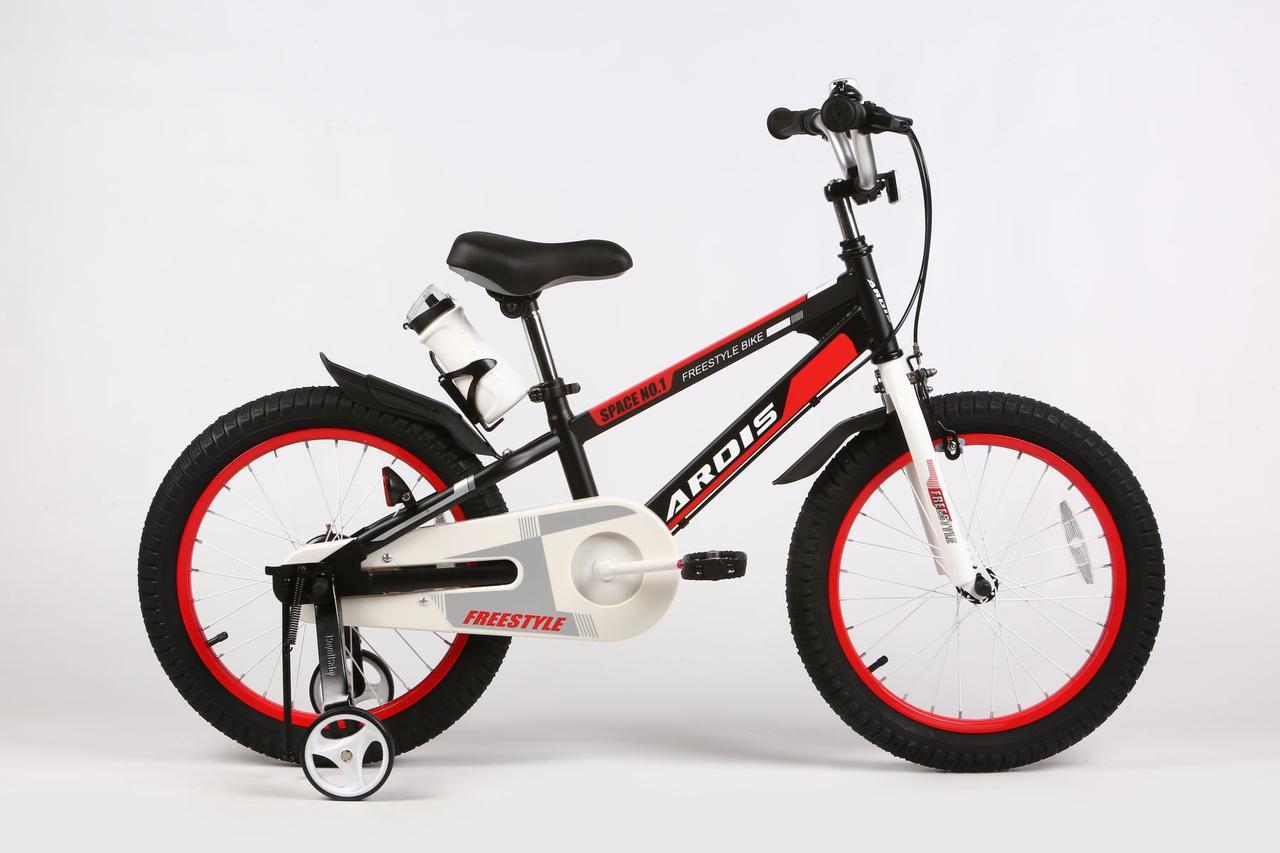 """Детский велосипед ARDIS SPACE ST 18""""  Черный/Красный"""