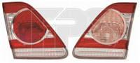 Фонарь задний для Toyota Corolla '10-12 левый, внутренний (DEPO) 112-1311L-LD-UE