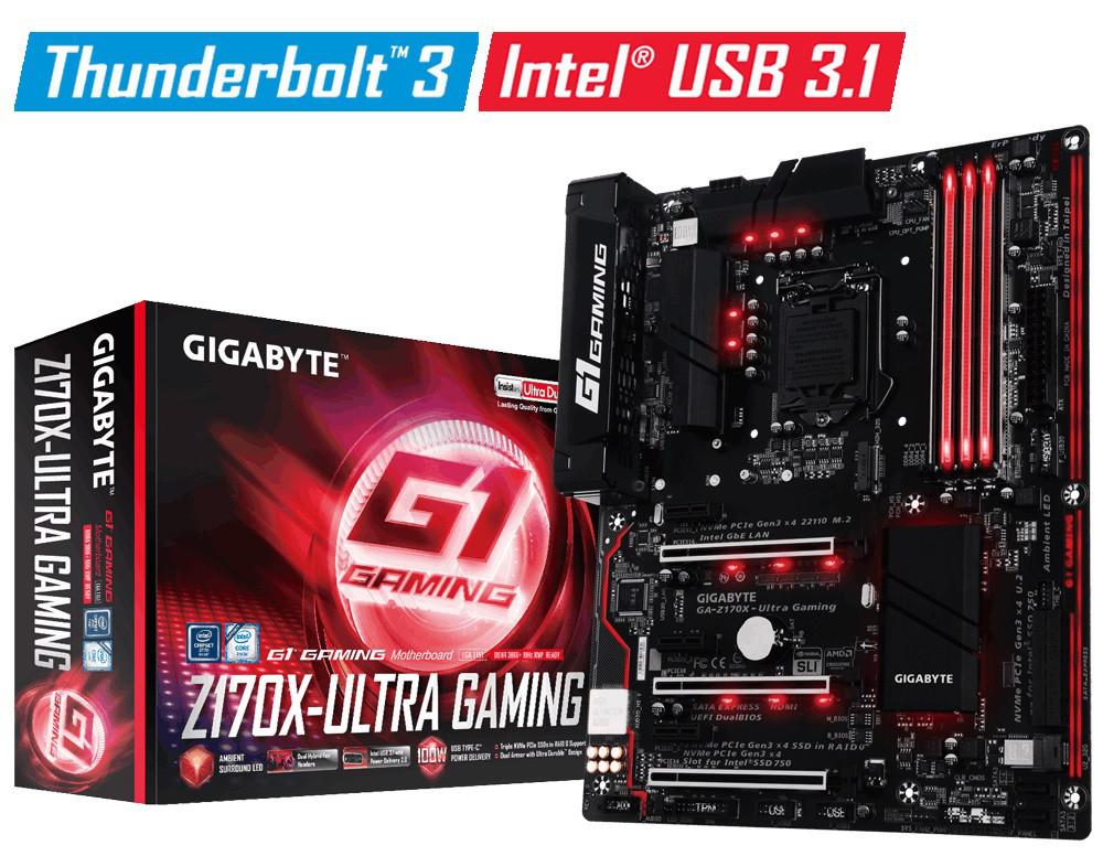 """Материнская плата GIGABYTE GA-Z170X Ultra Gaming s.1151 DDR4 """"Over-Stock"""""""