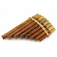 Флейта Пана бамбук (21х13х3 см)