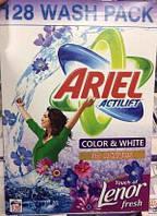 Стиральный порошок Ariel Actilift Lenor Color & White 10кг (128 стирок), фото 1
