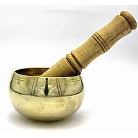 Чаша поющая бронзовая (без резонатора)(d 10 см)