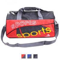 """Сумка спортивная """"Surfer"""" 40х22х20см, полиэстер, внутренний карман, ремень через плечо, сумка для фитнеса, сумка для тренировок, сумка в тренажерный"""
