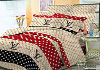 Комплект постельного белья 3Д Полуторный Поликоттон 60% хлопок полиестер