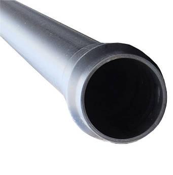 Труба напорная нпвх ду110 pn6  L6000 mm