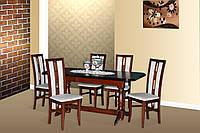 """Стол для гостинной деревянный раскладной """"Гранд"""" 160(+40)х90х76 см"""