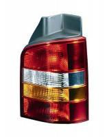 Фонарь задний для Volkswagen Transporter T5 '03-09 правый (DEPO) 1 дверь, красно-желтый 441-1957R-UE