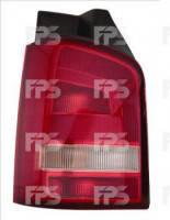 Фонарь задний для Volkswagen Transporter T5 '10-15 левый (DEPO) 1 дверь, светло-красный