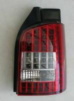 Фонари задние для Volkswagen Transporter T5 '03-15 LED, красные,к-кт (Junyan) altezza-T5-red