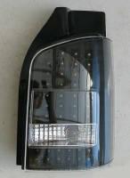 Фонари задние для Volkswagen Transporter T5 '03-15 LED, черные,к-кт (Junyan)
