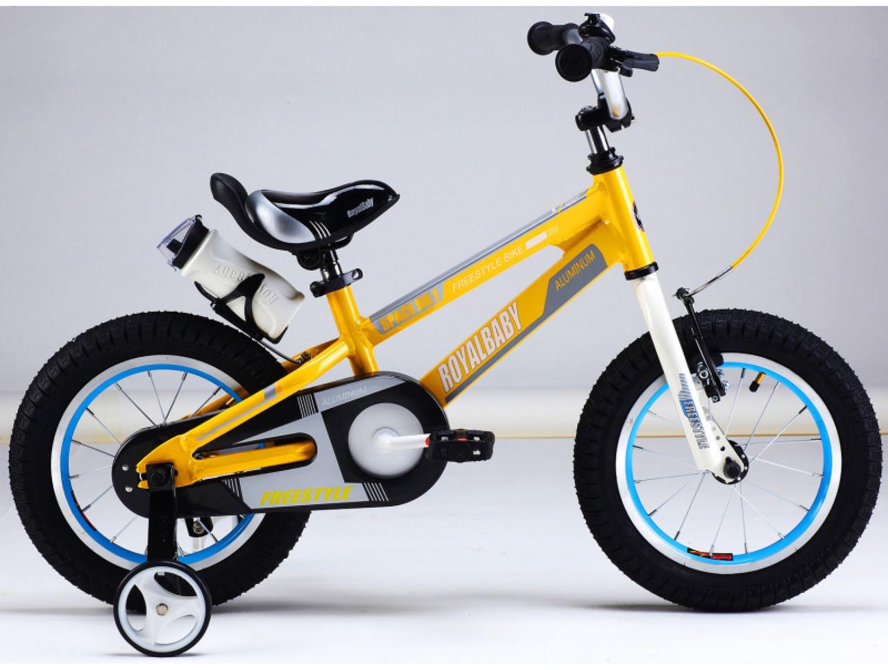 "Дитячий велосипед ARDIS SPACE ST 18"" Жовтий"