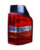 Фонарь задний для Volkswagen Transporter T5 '03-09 правый (TYC) 1 дверь, красно-желтый