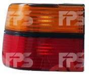 Фонарь задний для Volkswagen Vento '92-99 левый (DEPO) внешний, красно-желтый 1H5945111A