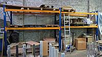 Складские стеллажи бу для паллет/европоддонов, полочного хранения