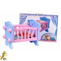 Игрушка Кроватка для куклы ТехноК, арт. 4166 для Барби