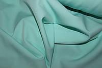 Ткань креп костюмка барби нежная мята, фото 1