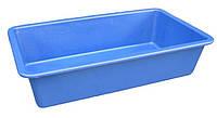 """Таз (корыто) пластиковый 65 литров прямоугольный """"Юнипласт"""""""