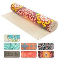 Йога - мат / подстилка / коврик для занятий йоги ПВХ 4мм 60*173см