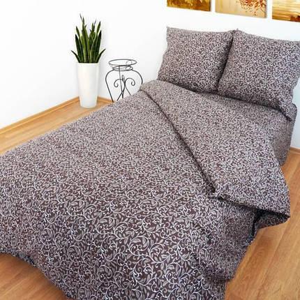 "Ткань для постельного белья Бязь ""Gold"" Lux GL3010brown (50м), фото 2"
