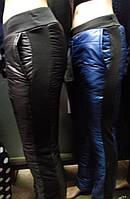 Лыжные  Теплые Спортивные женские штаны (ПЛАЩЕВКА+СИНТЕПОН+флис), р 46-48, доставка по Украине