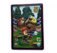 Игрушка планшет интерактивный 3D медведи и лесоруб