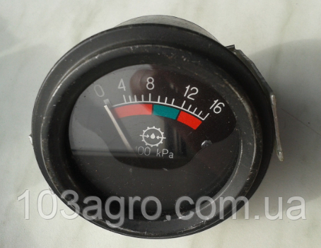 Датчик тиску масла механічний 0-16, фото 2