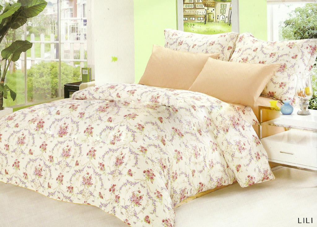 Комплект постельного белья Le Vele silk-satin Lili