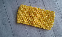 Основа для пов'язок 7 см . Колір жовтий
