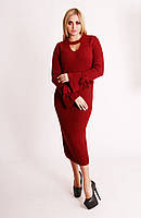 Вязаное шерстяное платье в 5 цветах турецкого производства!