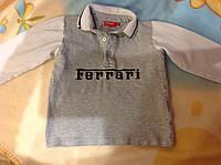 Рубашка на мальчика 4 года. Фирма Ferrari.