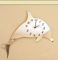 Часы на стену Золотой дельфин