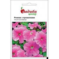Петуния мультифлора розовая с прожилками 0.02г