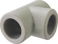 Тройник полипропиленовый для горячей воды и отопления d=32 мм