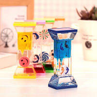 Креативные прямоугольные часы в форме колоны 1шт Цветной