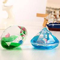 Креативные песочные часы в форме алмаза с животными Цветной