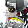 Торцовочная пила с лазером Boxer BX-2073, стусло без протяжки, поворотная торцевая пила, торцовка по дереву, фото 9