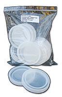"""Крышка полиэтиленовая для консервации. Первый сорт (ТЕРМО) в упаковке по 10 штук """"Юнипласт"""""""