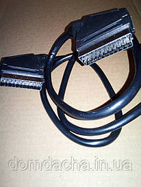 Шнур Scart-Scart 21 pin