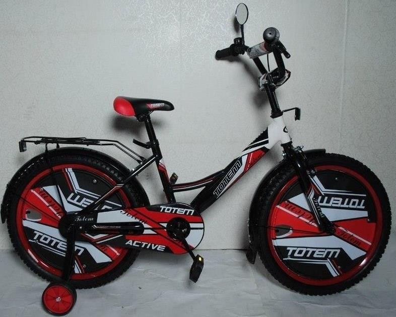 """Детский велосипед TOTEM ACTIVE 16""""  Красный"""
