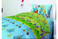 """Комплект постельного белья тм """" Тэп """" подростковое Смурфики"""