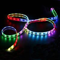 Светодиодная лента 12V 5050, 60 LED, 5 метров, RGB